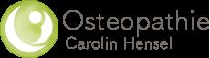 Praxis für Osteopathie Carolin Hensel Logo